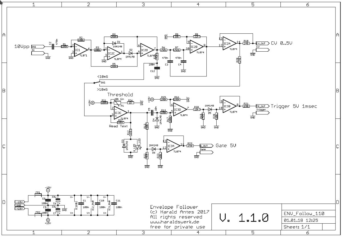 Envelope Follower Schematic - Wiring Diagram Article