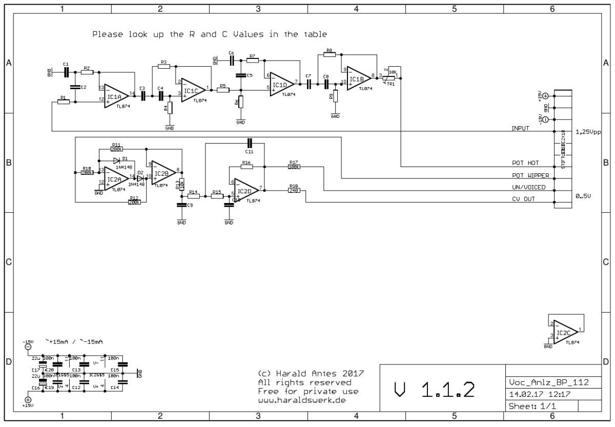 Vocoder_BP_sch Vocoder Schematic on limiter schematic, guitar schematic, wah schematic, ring modulator schematic, linear predictive coding, noise gate schematic, theremin schematic, radio schematic, vibrato schematic, mixer schematic, computer schematic, overdrive schematic, talk box, pitch shifter schematic, chorus schematic, trautonium schematic,
