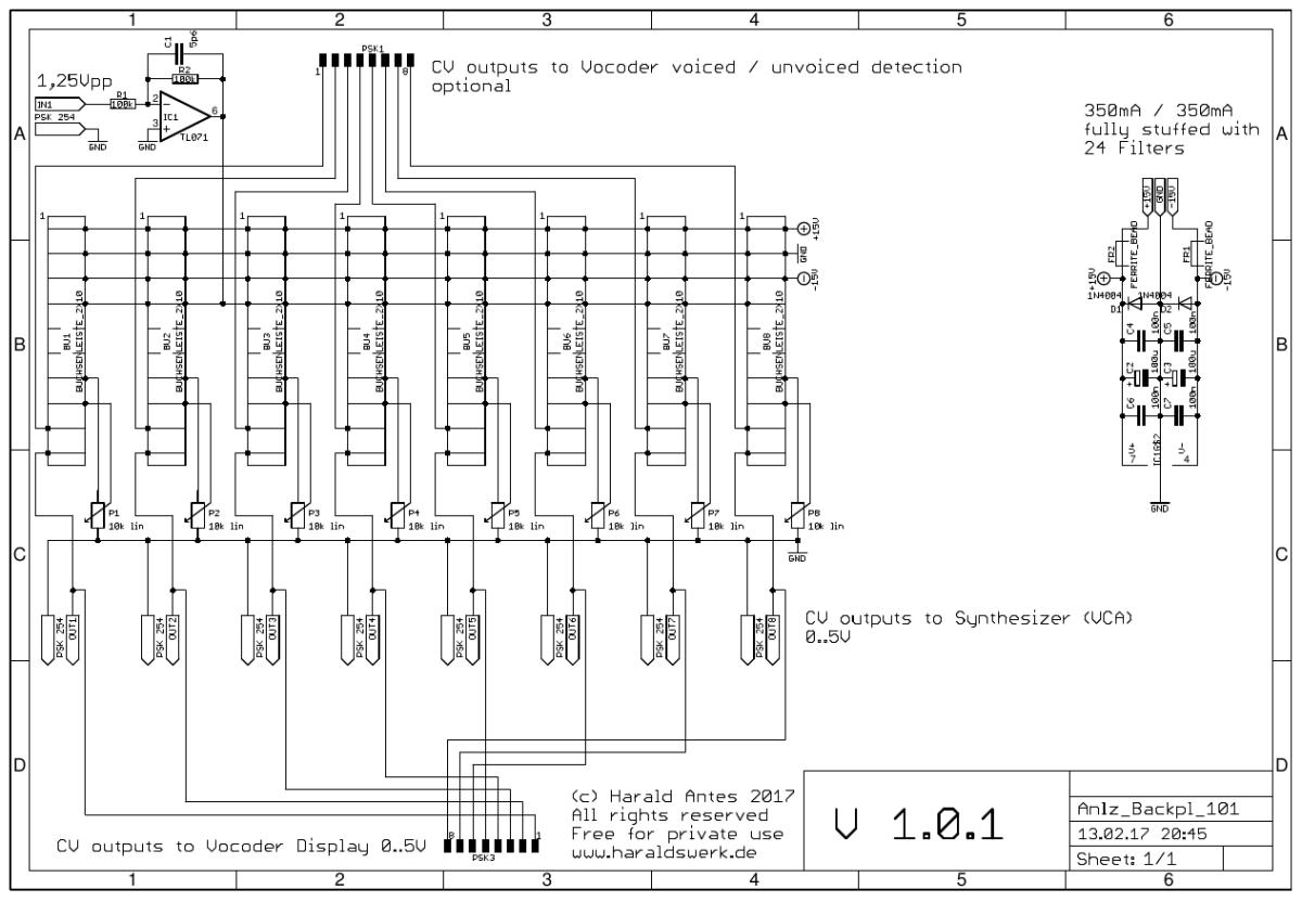 Vocoder_BackPl_sch Vocoder Schematic on limiter schematic, guitar schematic, wah schematic, ring modulator schematic, linear predictive coding, noise gate schematic, theremin schematic, radio schematic, vibrato schematic, mixer schematic, computer schematic, overdrive schematic, talk box, pitch shifter schematic, chorus schematic, trautonium schematic,